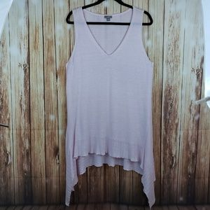 J.jill soft pink tunic large